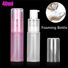 Lot 40ml Foaming Soap Dispenser Empty Bottles Hand Soap Liquid Containers Pump