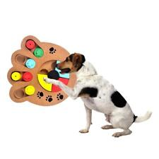Interactive Dog Food Treat Maze Comfy Treat Dispensing Toy for Dog IQ Training