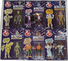 Scarce UNPUNCHED Real Ghostbusters MONSTERS FIGURE SET of 6 Kenner 1986 MIP