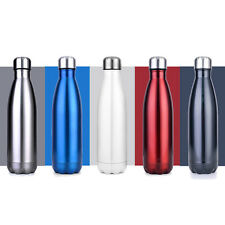 350ML-1L Vacuum Cup Swell Coke Bottle Creative Insulation Cup Stainless Steel