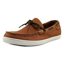 Cole Haan Pinch Weekender Camp Men  Moc Toe Leather  Boat Shoe