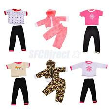 T-shirt & Pants Set for 18'' American Girl Journey My Life Our Generation Doll