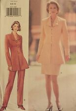 OOP BUTTERICK 3623 Flared Top~Skirt~Pants PATTERN 6-8-10/12-14-16/18-20-22 UC