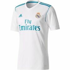 adidas Real Madrid 2017 - 2018 Home Soccer Jersey Brand New White Kids - Youth