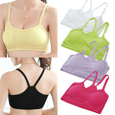 Women Casual Sport Vest Yoga Bra Soft Y-Shape Strap Crop Top Underwear Hot Sell