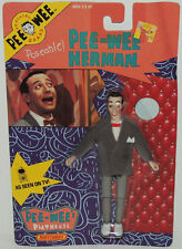 1988 Pee Wees Playhouse 2nd PEE-WEE HERMAN Figure Matchbox Vintage MIP