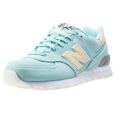 New Balance 574 Classic Running Womens Trainers Turquoise New Shoes