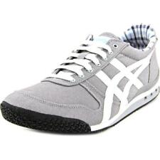 Onitsuka Tiger by Asics Ultimate 81 Women  Round Toe Canvas Gray Sneakers