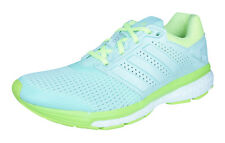 adidas Supernova Glide 7 Boost Womens Running Trainers / Shoes - Light Green