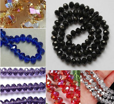 9 color Rhinstone Crystal Faceted Gems Loose Beads  4/6/8mm