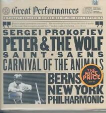 PROKOFIEV: PETER AND THE WOLF/SAINT-SA‰NS: THE CARNIVAL OF THE ANIMALS NEW CD
