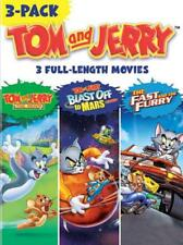 TOM AND JERRY 3-PACK: TOM AND JERRY - THE MOVIE/BLAST OFF TO MARS/THE FAST AND T