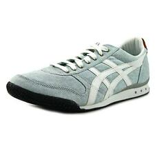 Onitsuka Tiger by Asics Ultimate 81 Men  Round Toe Canvas Blue Sneakers