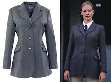 DUBLIN CANBERRA TWEED WOOL BLEND SHOW HACKING HORSE RIDING SHOWING JACKET