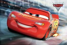 Cars:3 The Movie McQueen Race Poster 61x91.5cm
