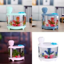 Creative Fish Tank Ultrasonic Aroma Humidifier Air Diffuser Purifier Mist Maker