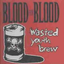 BLOOD FOR BLOOD - WASTED YOUTH BREW USED - VERY GOOD CD