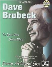 JAMEY AEBERSOLD - DAVE BRUBECK: IN YOUR OWN SWEET WAY NEW CD