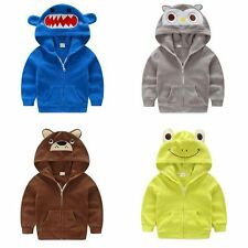 NWT Infant Kids Baby Boys outerwear Hooded coats Boys Fall Spring Jacket Clothes