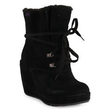 Rocket Dog Barney Womens Boots Black New Shoes