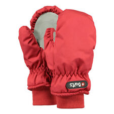 Barts Nylon Mitts Gloves Warm Mittens Children Fleece Inside Aquastop Red
