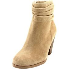 Vince Camuto Hesta Women  Round Toe Suede Tan Ankle Boot