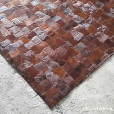 Aix Patchwork Cow Hide  Skin Rug Cow Hide Leather Area Rug