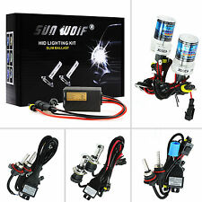 Xenon HID Conversion Kit 55W AC Quick Start Headlight H1 H7 H13 9006 4300K 6000K