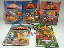 Disney The Lion King Action Figures 1994 Mattel Arcotoys Some Unopened