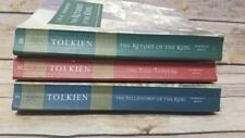 Tolkien Three Book Set Lord Of The Rings Trilogy - Houghton Mifflin Paperbacks