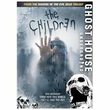 GHOST HOUSE UNDERGROUND, THE CHILDREN - DVD NEW! Ships fast!