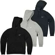 Nike Swoosh Hoodie Fleece Hooded Jumper Club Hoody Sweatshirt Sweater S-XL