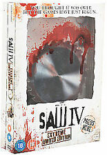SAW (IV) 4 (DVD, 2008) EXTREME LIMITED EDITION DVD BNIW HORROR NEW TALKING CASE