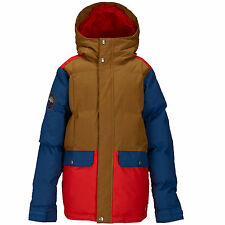 Burton Boys Tundra Puffy Jacket Snowboard Ski Winter for Young