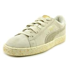 Puma Suede x Careaux Women  Round Toe Suede Gray Sneakers NWOB