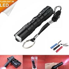 NEW Mini CREE LED Waterproof Flashlight Torch Handy Light Lamp Keychain Tools