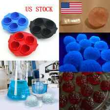 Silicone Brain Shape Ice Freeze Cube Tray Food Molds Chocolate Mould Halloween