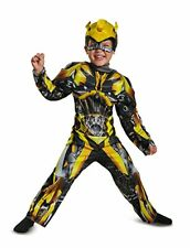 Disguise Transformers Bumblebee Autobots Toddler Muscle Halloween Costume 22331