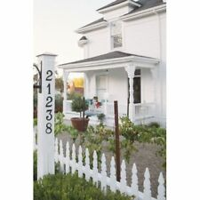 Baldwin 90671 Satin Brass and Brown Solid Brass Residential House Number 1