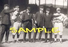 1921 WS Giants YANKEES Ground Rules Discussion  PHOTO