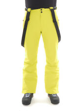 Brunotti Ski Pants Winter Trousers Snow Trousers Yellow Footstrap Slim Fit 10K