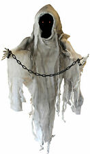 FACELESS GHOUL ANIMATED HALLOWEEN PARTY PROP SCARY SOUND ACTIVATED ANIMATRONIC