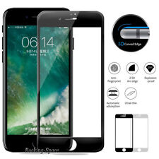 For Apple iPhone 7 8 Plus Premium Full Coverage Tempered Glass Screen Protector