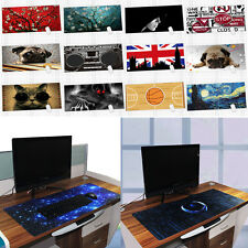 Rubber Gaming Mouse Pad Desktop Mat for PC Laptop Computer Large Size 890*400mm