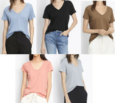 NWT New $75 Vince Short Sleeve V-Neck Tee T-shirt Top Choose Color & Size