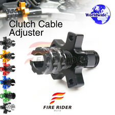 FRW 6Color CNC Clutch Cable Adjuster For Kawasaki Ninja ZX-10R 11-16 12 13 14 15