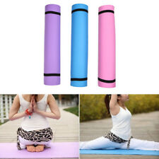 Thickness 4mm Yoga Mat Non-slip Exercise Pad Health Lose Weight Fitness Durable
