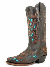 Women's Boots Boots Western Cowgirl USA Leather Cowhide Western Boots