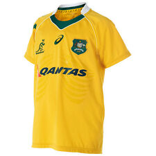 Wallabies 2016 Youth Replica OnField Jersey - Sizes 8 - 14  **SALE PRICE**