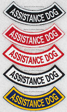 Assistance Dog Rocker Patch  Medical Support Therapy  PTSD